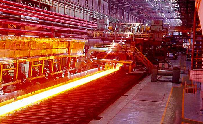 steel plants in india